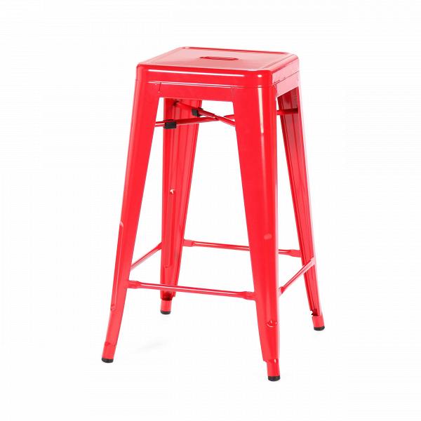 Барный стул Marais Color 2Барные<br>Дизайнерский цветной стальной барный стул Marais Color 2 (Мэрейс Калар) без спинки от Cosmo (Космо).<br> Барный стул Marais Color 2 — олицетворение винтажного стиля, его грациозные линии создают ощущение легкости и невесомости. Несмотря на хрупкий вид, этот предмет мебели невероятно прочен и долговечен. Высококачественный металл, обработанный методом гальванизации, выдерживает самые агрессивные условия окружающей среды. Не случайно модель не утратила актуальности с начала ХХ века — именно тогда...<br><br>stock: 28<br>Высота: 66<br>Ширина: 41<br>Глубина: 41<br>Тип материала каркаса: Сталь<br>Цвет каркаса: Красный<br>Дизайнер: Xavier Pauchard