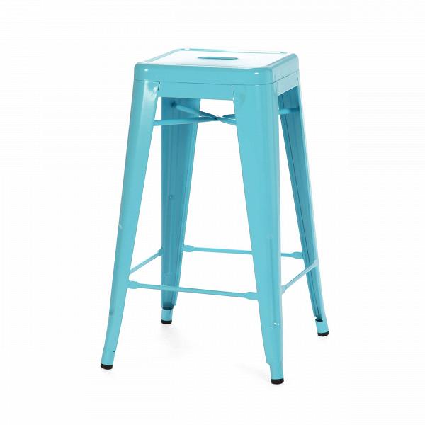 Барный стул Marais Color 2Барные<br>Дизайнерский цветной стальной барный стул Marais Color 2 (Мэрейс Калар) без спинки от Cosmo (Космо).<br> Барный стул Marais Color 2 — олицетворение винтажного стиля, его грациозные линии создают ощущение легкости и невесомости. Несмотря на хрупкий вид, этот предмет мебели невероятно прочен и долговечен. Высококачественный металл, обработанный методом гальванизации, выдерживает самые агрессивные условия окружающей среды. Не случайно модель не утратила актуальности с начала ХХ века — именно тогда...<br><br>stock: 14<br>Высота: 66<br>Ширина: 41<br>Глубина: 41<br>Тип материала каркаса: Сталь<br>Цвет каркаса: Голубой<br>Дизайнер: Xavier Pauchard