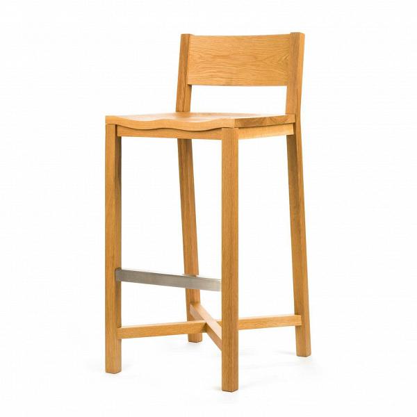 Барный стул TomokoБарные<br>Дизайнерский барный стул Tomoko (Томоко) из массива дерева на четырех ножках от Cosmo (Космо). <br>Дизайн барного стула Tomoko безусловно уникален. Простые массивные детали — это новое и уникальное решение в дизайне от Шона Дикса.ВЭлегантность и классический видВизделия непременно сыграют важную роль в оживлении любого интерьера в скандинавском стиле. Мебель Шона Дикса минималистична иВинтеллектуальна, прекрасно обработана иВочень функциональна. Она несет вВсебе чувство...<br><br>stock: 0<br>Высота: 101<br>Высота сиденья: 76<br>Ширина: 43<br>Глубина: 51<br>Материал каркаса: Массив дуба<br>Тип материала каркаса: Дерево<br>Цвет каркаса: Дуб<br>Дизайнер: Sean Dix