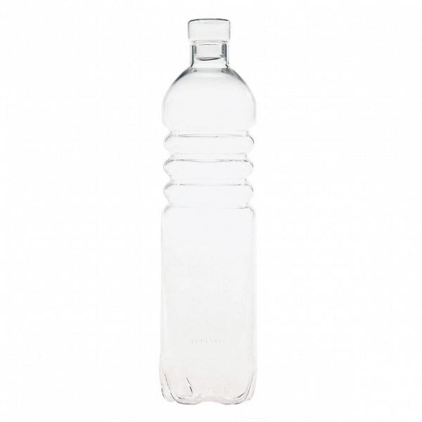 Бутылка Estetico QuotidianoПосуда<br>Бутылка Estetico Quotidiano из коллекции столовой посуды Estetico Quotidiano. Что вВнашей жизни может быть привычнее иВнезаметнее, чем, например, одноразовая посуда или пластиковые бутылки? Разве только посуда вВсобственном доме, наВрисунок которой уже давно неВобращаешь внимания.<br><br><br> Дизайнер Алессандро Дзамбелли совместно с компанией Seletti выпустили коллекцию столовой посуды под названием Estetico Quotidiano, что можно перевести сВитальянского языка...<br><br>stock: 24<br>Высота: 34<br>Материал: Стекло<br>Цвет: Прозрачный/Clear<br>Диаметр: 8,5