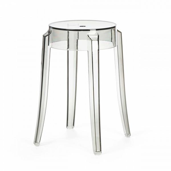 Табурет Charles GhostТабуреты<br>Charles GhostВ— это прозрачные барные стулья и табуреты сВочень привлекательным дизайном. Слегка изогнутые округлые ножки напоминают форму мебели 1800-х годов. Особый облик элегантных линий Charles GhostВ— это моноблок изВпрозрачного поликарбоната, который неВподдается разрушению иВможет использоваться вВлюбом месте.<br><br><br> Представленная форма вызывает вВвоображении образ табурета 1800-х годов сВокруглыми, слегка изогнутыми линиями ножек. Табу...<br><br>stock: 16<br>Высота: 46<br>Ширина: 29<br>Глубина: 29<br>Материал каркаса: Поликарбонат<br>Тип материала каркаса: Пластик<br>Цвет каркаса: Дымчатый<br>Дизайнер: Philippe Starck