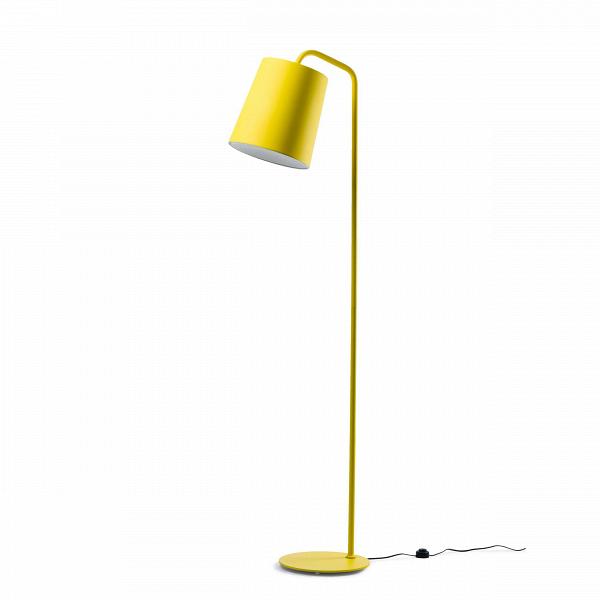 Напольный светильник HideНапольные<br>Для всех пуристов и ревнителей минимализма создан напольный светильник Hide<br>без лишних деталей и украшений. Однако подойдет он и тем, кому не хватает изюминки в интерьере благодаря позитивному ярко-желтому цвету абажура (в одной из вариаций). Для консерваторов есть черный и белый варианты. <br><br><br> Автор этой минималистичной и функциональной лампы из алюминия и металла — стокгольмец Томас Бернстранд, который продолжает традиции скандинавской школы с ее простотой и удобством, не зря о...<br><br>stock: 0<br>Высота: 184<br>Диаметр: 30<br>Количество ламп: 1<br>Материал абажура: Алюминий<br>Материал арматуры: Металл<br>Мощность лампы: 60<br>Ламп в комплекте: Нет<br>Напряжение: 220<br>Тип лампы/цоколь: E27<br>Цвет абажура: Желтый<br>Цвет арматуры: Желтый<br>Дизайнер: Thomas Bernstrand