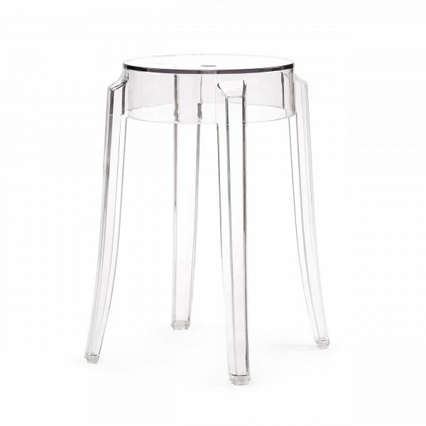 Табурет Charles GhostТабуреты<br>Charles GhostВ— это прозрачные барные стулья и табуреты сВочень привлекательным дизайном. Слегка изогнутые округлые ножки напоминают форму мебели 1800-х годов. Особый облик элегантных линий Charles GhostВ— это моноблок изВпрозрачного поликарбоната, который неВподдается разрушению иВможет использоваться вВлюбом месте.<br><br><br> Представленная форма вызывает вВвоображении образ табурета 1800-х годов сВокруглыми, слегка изогнутыми линиями ножек. Табу...<br><br>stock: 18<br>Высота: 46<br>Ширина: 29<br>Глубина: 29<br>Материал каркаса: Поликарбонат<br>Тип материала каркаса: Пластик<br>Цвет каркаса: Прозрачный<br>Дизайнер: Philippe Starck