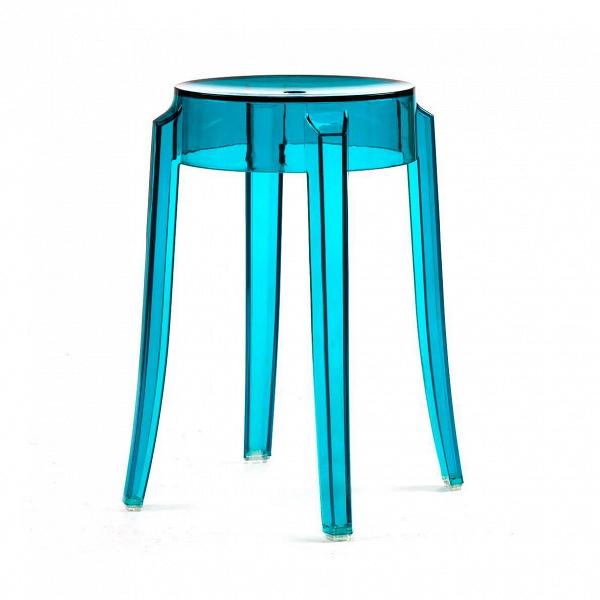 Табурет Charles GhostТабуреты<br>Charles GhostВ— это прозрачные барные стулья и табуреты сВочень привлекательным дизайном. Слегка изогнутые округлые ножки напоминают форму мебели 1800-х годов. Особый облик элегантных линий Charles GhostВ— это моноблок изВпрозрачного поликарбоната, который неВподдается разрушению иВможет использоваться вВлюбом месте.<br><br><br> Представленная форма вызывает вВвоображении образ табурета 1800-х годов сВокруглыми, слегка изогнутыми линиями ножек. Табу...<br><br>stock: 16<br>Высота: 46<br>Ширина: 29<br>Глубина: 29<br>Материал каркаса: Поликарбонат<br>Тип материала каркаса: Пластик<br>Цвет каркаса: Голубой<br>Дизайнер: Philippe Starck