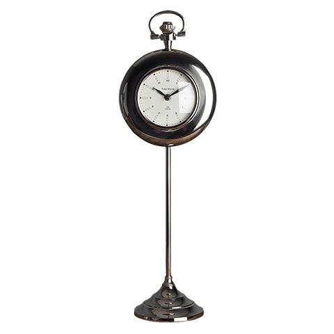 Часы (47-425-65)Часы<br>Дизайнерские высокие настольные часы на узкой ножке от Roomers (Румерс).<br><br>stock: 11<br>Высота: 65<br>Ширина: 15<br>Материал: металл, стекло<br>Цвет: chrom<br>Длина: 20<br>Ширина: 15<br>Высота: 65<br>Длина: 20