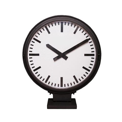 Часы с подсветкой Дифрент (DTR2103)Часы<br>Часы оснащены подсветкой, включающейся при помощи отдельной клавиши, могут использоваться в интерьере в качестве настольного или напольного светильника<br><br>stock: 9<br>Высота: 83<br>Ширина: 24<br>Материал: металл, стекло<br>Цвет: Matte black<br>Длина: 70<br>Ширина: 24<br>Высота: 83<br>Длина: 70