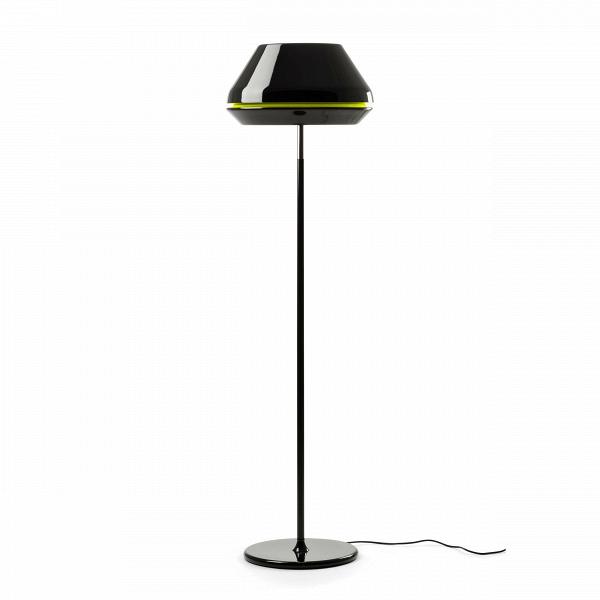 Напольный светильник SpoolНапольные<br>Напольный светильник Spool — результат весьма своеобразного вдохновения.ВС английского spool переводится как «катушка». Вдоль абажура светильника есть небольшая выемка другого цвета — яркий цветовой акцент, ожививший весь облик этого стильного светильника. Благодаря яркой цветовой полоске светильникВприобрел нечто схожее с самой обычной катушкой ниток. Да вот только дизайнеры, трудившиеся над лампой, пожелали оставить только долю силуэта катушки, чтобы готовый продукт выглядел стиль...<br><br>stock: 8<br>Высота: 148<br>Диаметр: 42<br>Количество ламп: 1<br>Материал абажура: Акрил<br>Материал арматуры: Алюминий<br>Мощность лампы: 60<br>Ламп в комплекте: Нет<br>Напряжение: 220<br>Тип лампы/цоколь: E27<br>Цвет абажура: Черный