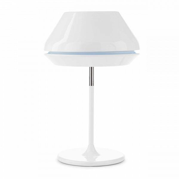 Настольный светильник SpoolНастольные<br>Дизайнерский настольный светильник Spool (Спул) на узкой ножке от Cosmo (Космо).<br><br>Модель данного настольного светильника Spool — результат весьма своеобразного вдохновения.ВС английского spool переводится как «катушка». Вдоль всего диаметра абажура светильника есть небольшая выемка другого цвета — яркий цветовой акцент, ожививший весь облик этого стильного предмета. Благодаря яркой цветовой полоске светильникВприобрел нечто схожее с самой обычной катушкой ниток. Да вот только ди...<br><br>stock: 12<br>Высота: 62<br>Диаметр: 42<br>Количество ламп: 1<br>Материал абажура: Акрил<br>Материал арматуры: Алюминий<br>Мощность лампы: 60<br>Ламп в комплекте: Нет<br>Напряжение: 220<br>Тип лампы/цоколь: E27<br>Цвет абажура: Белый