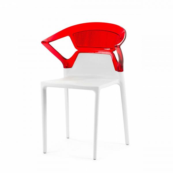 Стул Swap с подлокотникамиИнтерьерные<br>Дизайнерский красно-белый пластиковый стул Swap (Свап) с подлокотниками от Cosmo (Космо).<br><br><br><br> Стул Swap с подлокотниками — идеальный вариант меблировки как домашних иВдачных интерьеров, так иВобщественных заведений. <br> Этот стул может оказаться той самой недостающей деталью вВсоздании необычного современного интерьера кафе или ресторана. Дизайн стула необычен ровно настолько, чтобы привлекать внимание, ноВнеВбросаться вВглаза. <br><br><br> Каждый стул выполнен из...<br><br>stock: 11<br>Высота: 85<br>Ширина: 55<br>Глубина: 54<br>Цвет спинки: Красный<br>Материал спинки: Поликарбонат<br>Тип материала каркаса: Полипропилен<br>Тип материала спинки: Пластик<br>Цвет каркаса: Белый