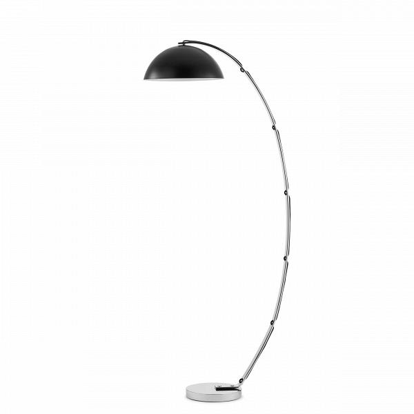 Напольный светильник LondonНапольные<br>Напольный светильник LondonВ — это классический британский светильник изВполированного алюминия.<br><br><br><br> Напольные светильники London от фабрики Original BTC удобны, обладают элегантной скромностью иВдоступной ценой. Строгая классика консервативных линий иВформ мгновенно сделала ихВнеотъемлемыми элементами шикарных интерьеров. Нередко вВколлекциях BTC угадываются черты концептуального дизайна 1940-х годов иВстиля ар-деко времен 1930-х годов.<br><br>stock: 1<br>Высота: 141,5<br>Ширина: 50<br>Диаметр: 25<br>Материал абажура: Металл<br>Мощность лампы: 60<br>Ламп в комплекте: Нет<br>Напряжение: 220<br>Тип лампы/цоколь: E27<br>Цвет абажура: Черный