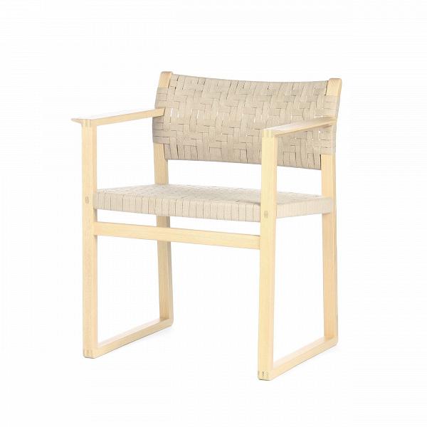 Стул BMИнтерьерные<br>Дизайнерский белый деревянный стул BM (БМ) из массива ясеня с кордовым сиденьем и спинкой от Cosmo (Космо).<br><br> Стул ВМ – это яркий и приятный представитель домашней, уютной и приносящей тепло мебели, которая отлично подойдет как к домашнему интерьер, квартиры, загородного дома, так и к общественному месту, в котором интерьер максимально приближен по стилю натуральным природным мотивам. Определенно стоит отметить, что он не будет блеклым и незаметным, поскольку дизайнерский стул ВМ – это ульт...<br><br>stock: 8<br>Высота: 75<br>Ширина: 61<br>Глубина: 50<br>Материал каркаса: Массив ясеня<br>Тип материала каркаса: Дерево<br>Цвет сидения: Бежевый<br>Тип материала сидения: Корд бумажный<br>Цвет каркаса: Белый<br>Дизайнер: BГёrge Mogensen