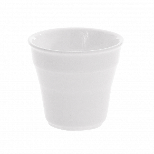 Кофейная чашка Estetico QuotidianoПосуда<br>Кофейная чашка Estetico Quotidiano из коллекции столовой посуды Estetico Quotidiano. Что вВнашей жизни может быть привычнее иВнезаметнее, чем, например, одноразовая посуда или пластиковые бутылки? Разве только посуда вВсобственном доме, наВрисунок которой уже давно неВобращаешь внимания.<br><br><br> Дизайнер Алессандро Дзамбелли совместно с компанией Seletti выпустили коллекцию столовой посуды под названием Estetico Quotidiano, что можно перевести сВитальянског...<br><br>stock: 0<br>Высота: 5,2<br>Ширина: 5,8<br>Материал: Фарфор<br>Цвет: Белый
