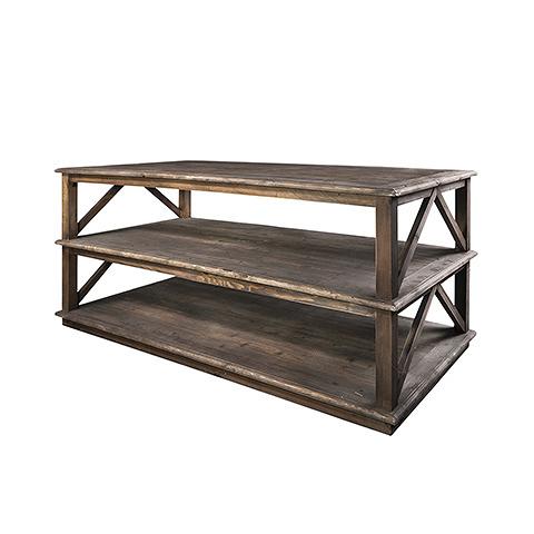 Консоль Хейди (SW581-1)Консоли<br>ROOMERS – это особенная коллекция, воплощение всего самого лучшего, модного и новаторского в мире дизайнерской мебели, предметов декора и стильных аксессуаров.<br>Интерьерные решения от ROOMERS – всегда актуальны, более того, они - на острие моды. Коллекции ROOMERS тщательно отбираются и обновляются дважды в год специально для вас.<br><br>stock: 2<br>Высота: 90<br>Ширина: 100<br>Материал: Массив дуба состаренный<br>Цвет: fumed oak<br>Длина: 200<br>Ширина: 100<br>Высота: 90<br>Длина: 200