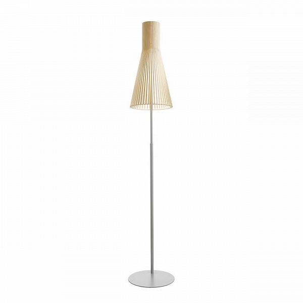 Напольный светильник Secto 4210Напольные<br>Компания Secto Design является финским производителем дизайнерских светильников изВдерева, обретающих всемирную известность. Изготавливаемые вручную высококвалифицированными специалистами изВнатуральной древесины березы напольные светильники Secto 4210<br>наделены простотой иВчеткостью скандинавского стиля. Торшеры, подвесные иВнастенные светильники, аВтакже настольные лампы обеспечивают мягкое свечение иВпридают атмосферность любому помещению.<br><br><br> Все ламп...<br><br>stock: 0<br>Высота: 175-185<br>Диаметр: 30<br>Материал абажура: Береза<br>Мощность лампы: 40<br>Ламп в комплекте: Нет<br>Напряжение: 220<br>Теплота света: 3000<br>Тип лампы/цоколь: E27<br>Цвет абажура: Натуральный<br>Дизайнер: Seppo Koho