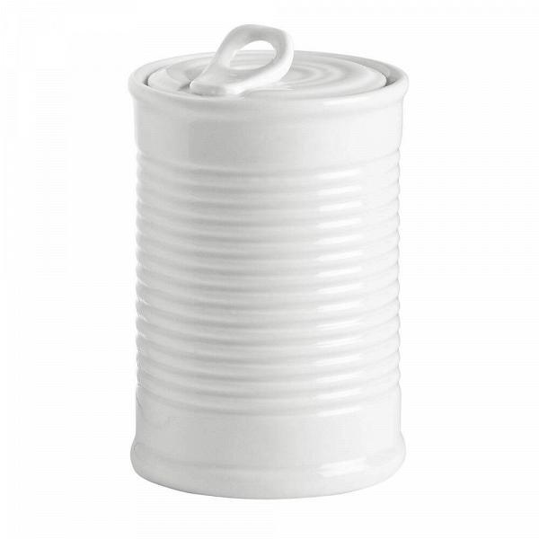 Банка Estetico QuotidianoПосуда<br>Банка Estetico Quotidiano из коллекции столовой посуды Estetico Quotidiano. Что вВнашей жизни может быть привычнее иВнезаметнее, чем, например, одноразовая посуда или пластиковые бутылки? Разве только посуда вВсобственном доме, наВрисунок которой уже давно неВобращаешь внимания.<br><br><br> Дизайнер Алессандро Дзамбелли совместно с компанией Seletti выпустили коллекцию столовой посуды под названием Estetico Quotidiano, что можно перевести сВитальянского языка к...<br><br>stock: 0<br>Высота: 10,7<br>Материал: Фарфор<br>Цвет: Белый<br>Диаметр: 7,4