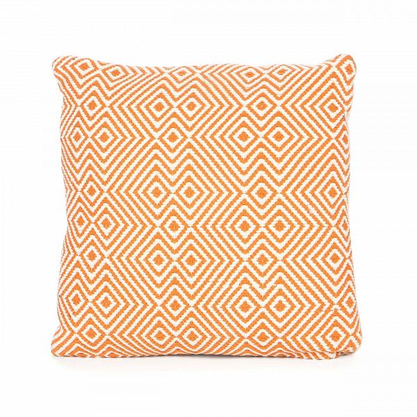 Подушка MartosДекоративные подушки<br>Четкий мелкий узор на декоративной подушке Martos создает необычный эффект. Кажется, будто линии движутся, сливаясь между собой. Современные дизайнеры смело интегрируют оптические иллюзии в дизайн мебели и декора. Зрительные эффекты в интерьере — это свежо и красиво.<br><br><br> Креативный дизайн подушки Martos отличноВподойдет для декорированияВинтерьеров в стиле лофт, который так любят люди творческих профессий, открытых для всего нового. Основной в составе изделияВхлопок — бе...<br><br>stock: 0<br>Ширина: 45<br>Материал: Хлопок<br>Цвет: Оранжевый<br>Длина: 45<br>Состав основы: Хлопок<br>Тип производства: Ручное производство