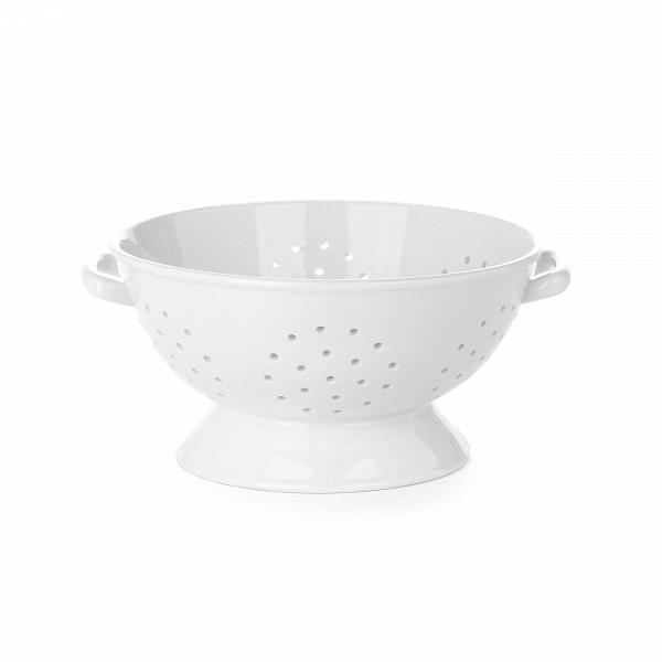 Дуршлаг Estetico QuotidianoПосуда<br>Дуршлаг Estetico Quotidiano из коллекции столовой посуды Estetico Quotidiano. Что вВнашей жизни может быть привычнее иВнезаметнее, чем, например, одноразовая посуда или пластиковые бутылки? Разве только посуда вВсобственном доме, наВрисунок которой уже давно неВобращаешь внимания.<br><br><br> Дизайнер Алессандро Дзамбелли совместно с компанией Seletti выпустили коллекцию столовой посуды под названием Estetico Quotidiano, что можно перевести сВитальянского языка...<br><br>stock: 0<br>Высота: 14<br>Материал: Фарфор<br>Цвет: Белый<br>Диаметр: 30,5