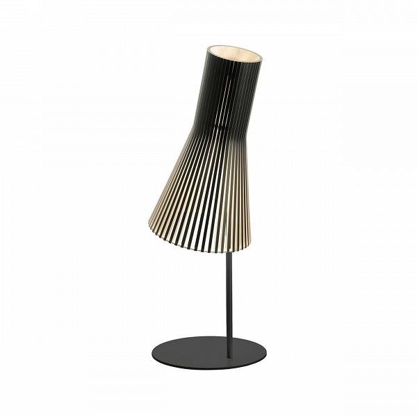 Настольный светильник Secto 4220Настольные<br>Дизайнерский настольный светильник Secto (Секто) с абажуром из березы на узкой ножке от Secto Design (Секто Дизайн).<br><br>Настольный светильник Secto 4220 производства компании Secto Design изготавливается вручную высококвалифицированными специалистами. Материалом для производства настольных светильников Secto 4220 является натуральная береза. Светильники обладают простотой иВчеткостью скандинавского стиля. Торшеры, подвесные иВнастенные светильники, аВтакже настольные лампы об...<br><br>stock: 0<br>Высота: 75<br>Диаметр: 25<br>Материал абажура: Береза<br>Мощность лампы: 40<br>Ламп в комплекте: Нет<br>Напряжение: 220<br>Теплота света: 3000<br>Тип лампы/цоколь: E27<br>Цвет абажура: Черный<br>Дизайнер: Seppo Koho