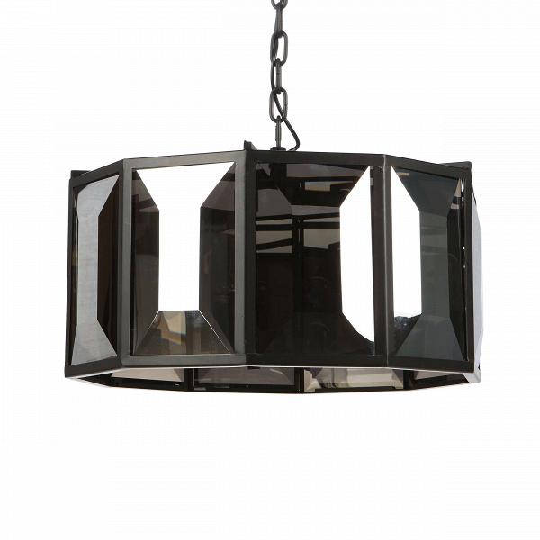 Подвесной светильник Strip серый малыйПодвесные<br>Не влюбиться в дизайнерские светильники от компании Cosmo просто невозможно. Филигранная работа мастеров-изготовителей поражает — ясные линии, строгая геометрия, сияющий глянец и глубокий цвет. Любой интерьер со светильниками от компании Cosmo выглядит ярче и эффектнее. <br> <br> Подвесные светильники Strip — это небольшая коллекция, состоящая из четырех стильныхВмоделей. Каждая из них отличается формой и количеством встроенных ламп, но выполнены они в единой стилистике, благодаря чему их ле...<br><br>stock: 8<br>Высота: 42<br>Диаметр: 57<br>Количество ламп: 5<br>Материал абажура: Стекло<br>Материал арматуры: Металл<br>Мощность лампы: 40<br>Ламп в комплекте: Нет<br>Напряжение: 220-240<br>Тип лампы/цоколь: E27<br>Цвет абажура: Дымчато-серый<br>Цвет арматуры: Черный<br>Цвет провода: Черный