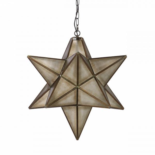 Подвесной светильник SkyПодвесные<br>Модели подвесных светильников Sky — это декор и светильники в одном флаконе. В ассортименте доступны две вариации, отличающиеся габаритами и остротой лучей. Подвесной светильник Sky — это заглавная модель коллекции. Это крупная звезда правильной геометрической формы, выполненная в популярном индустриальном стиле. <br> <br> Многие современные дизайнеры пробовали себя в этом направлении. Особая эстетика стиля пронизывает как декор, так и мебель: прямые линии, состаренные поверхности, фурнитура в ви...<br><br>stock: 5<br>Высота: 64<br>Диаметр: 60<br>Доп. цвет абажура: Дымчато-серый<br>Количество ламп: 1<br>Материал абажура: Стекло<br>Материал арматуры: Металл<br>Мощность лампы: 60<br>Ламп в комплекте: Нет<br>Напряжение: 220-240<br>Тип лампы/цоколь: E27<br>Цвет абажура: Антикварный<br>Цвет арматуры: Черный антикварный<br>Цвет провода: Черный