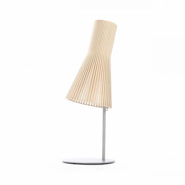 Настольный светильник Secto 4220Настольные<br>Дизайнерский настольный светильник Secto (Секто) с абажуром из березы на узкой ножке от Secto Design (Секто Дизайн).<br><br>Настольный светильник Secto 4220 производства компании Secto Design изготавливается вручную высококвалифицированными специалистами. Материалом для производства настольных светильников Secto 4220 является натуральная береза. Светильники обладают простотой иВчеткостью скандинавского стиля. Торшеры, подвесные иВнастенные светильники, аВтакже настольные лампы об...<br><br>stock: 1<br>Высота: 75<br>Диаметр: 25<br>Материал абажура: Береза<br>Мощность лампы: 40<br>Ламп в комплекте: Нет<br>Напряжение: 220<br>Теплота света: 3000<br>Тип лампы/цоколь: E27<br>Цвет абажура: Натуральный<br>Дизайнер: Seppo Koho