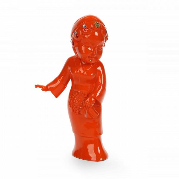 Статуэтка Geisha 5Настольные<br>Дизайнерская декоративная оранжевая статуэтка Geisha (Гейша) из полистоуна от Cosmo (Космо).Говорить об актуальности декора в мире современного дизайна не приходится, это очевидно. Наряду с появлением новых трендов меняются все составляющие дизайна. ОдноВиз последних значимых изменений — это возврат к истокам. Чтить традиции и культуру теперь не только жест уважения, но и особое движение, актуализирующееся в мире современного дизайна. Коллекция J for Japan — соответствующая современным т...<br><br>stock: 4<br>Высота: 25<br>Ширина: 8<br>Материал: Полистоун<br>Цвет: Оранжевый<br>Длина: 13
