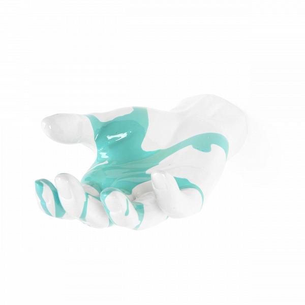 Настенная статуэтка ServeНастенный декор<br>Современный дизайн любит все яркое и броское. В нашем веке просто нет времени для скуки. Именно поэтому компания Cosmo предлагает моднуюВколлекцию настенногоВдекора Gesture. С английского языка gesture переводится как «жест».ВВсе предельно просто: каждая из моделей коллекции — это отдельный жест, которыми можно выразить многое.ВС помощью этих статуэток вы можете сотворить из интерьера своего дома настоящий арт-объект, где нет места для заурядности.В<br> <br> Настенная ста...<br><br>stock: 2<br>Высота: 8<br>Ширина: 12<br>Материал: Полистоун<br>Цвет: Синий<br>Длина: 21