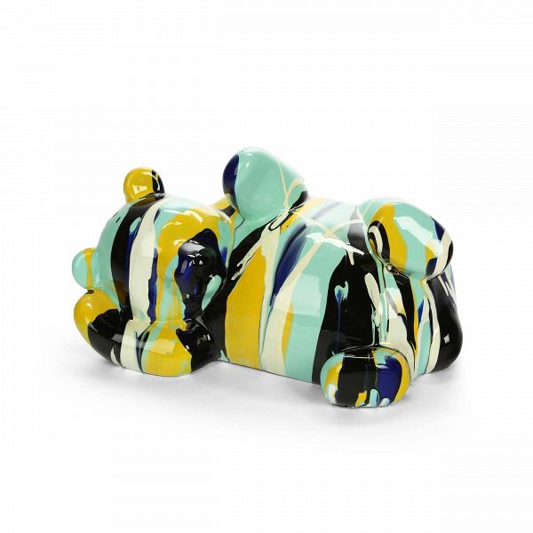 Статуэтка Color BearНастольные<br>Дизайнерская разноцветная статуэтка медведя Color Bear (Калар Бэр) от Cosmo (Космо).<br> Вы любите яркие цвета и живые линии природы? А может, вы подыскиваете подходящие элементы декора для детской комнаты? Тогда вам непременно нужно обратить внимание на яркие и невероятно милые статуэтки диких и домашних животных. Изображения животных приносят радость не только детям, но и взрослым дарят умиротворение и природное тепло.<br><br><br> Представленная здесь оригинальная статуэтка Colour Bear изображает...<br><br>stock: 3<br>Высота: 18<br>Ширина: 34<br>Материал: Полистоун<br>Цвет: Разноцветный<br>Длина: 21