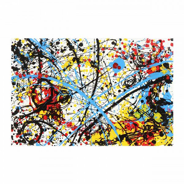 Картина AbstractКартины<br>Когда рука художника касается холста, происходит особая магия, которая превращает белоеВполотно в настоящее произведение искусства. Таинство живописи между тем передается в атмосферу окружающего интерьера, привнося если не уют, то живую энергетику.В<br> <br> Картина Abstract — это масляная живопись, которая не просто освежит, но и сделает интерьер вашего дома модным и современным. Как и многие другие направления в искусстве, абстракционизм стремится передать гармонию и красоту, однако д...<br><br>stock: 6<br>Ширина: 90<br>Материал: Холст<br>Цвет: Разноцветный<br>Длина: 60