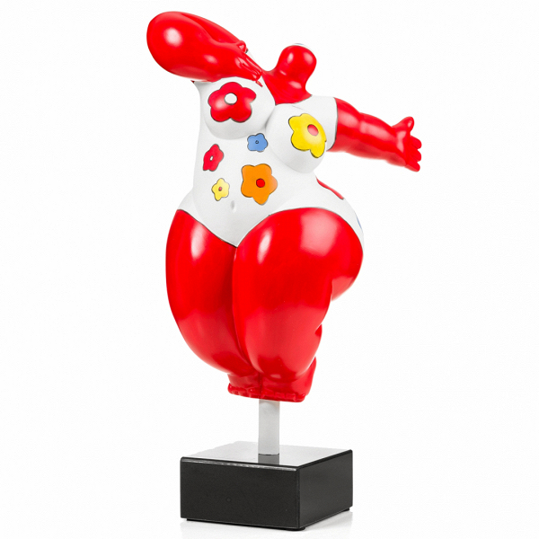 Статуэтка VenusНастольные<br>Дизайнерская настольная разноцветная статуэтка танцующей женщины Venus (Винус) от Cosmo (Космо).<br><br><br> Красота женского тела испокон веков является предметом восхищения множества великих художников, скульпторов, фотографов иВрежиссеров. Это, пожалуй, самый часто встречающийся вВмировой культуре образ. АВодним изВэталонов женской красоты принято считать ВенеруВ— римскую богиню цветущих садов, весны, плодородия, произрастания иВрасцвета всех плодоносящих сил приро...<br><br>stock: 10<br>Высота: 50<br>Ширина: 30<br>Материал: Полистоун<br>Цвет: Разноцветный/Colorful<br>Диаметр: 21