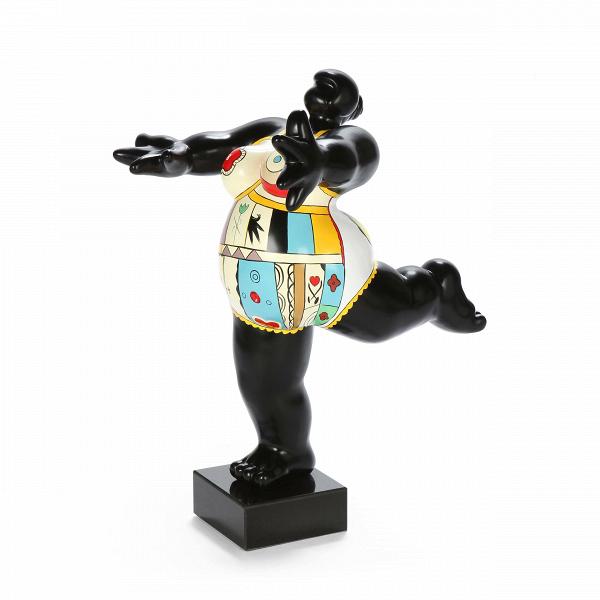 Статуэтка Venus 3Настольные<br>Дизайнерская высокая разноцветная статуэтка Venus (Винус) из полистоуна в форме богини Венеры от Cosmo (Космо).<br>         Красота женского тела испокон веков является предметом восхищения множества великих художников, скульпторов, фотографов иВрежиссеров.В<br>         Это, пожалуй, самый часто встречающийся вВмировой культуре образ. АВодним изВэталонов женской красоты принято считать ВенеруВ— римскую богиню цветущих садов, весны, плодородия, произрастания иВра...<br><br>stock: 3<br>Высота: 61<br>Ширина: 42<br>Материал: Полистоун<br>Цвет: Разноцветный<br>Длина: 38<br>Материал дополнительный: Мрамор<br>Цвет дополнительный: Черный