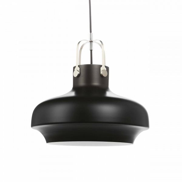 Подвесной светильник Copenhagen диаметр 35Подвесные<br>«Нам хотелось создать дизайн подвесного светильника с небольшим акцентом на индустриальный стиль, чтобы элегантность Ви утонченностьВизделия никак не пострадала», — говорят дизайнеры светильника Copenhagen.В<br><br><br> Подвесной светильник Copenhagen диаметр 35 — это наглядный пример гармонии контрастных цветов. Комбинирование современного и классического дизайна, морской и индустриальной стилистики рождают стильный подвесной светильник, которому нельзя отказать в кр...<br><br>stock: 0<br>Высота: 180<br>Диаметр: 35<br>Количество ламп: 1<br>Материал абажура: Алюминий<br>Мощность лампы: 40<br>Ламп в комплекте: Нет<br>Напряжение: 220<br>Тип лампы/цоколь: E27<br>Цвет абажура: Черный