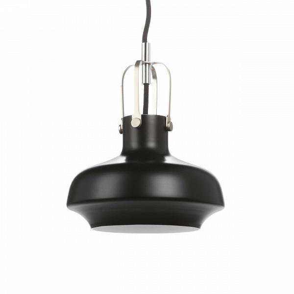 Подвесной светильник Copenhagen диаметр 20Подвесные<br>«Нам хотелось создать дизайн подвесного светильника с небольшим акцентом на индустриальный стиль, чтобы элегантность Ви утонченностьВизделия никак не пострадала», — говорят дизайнеры светильника Copenhagen.ВВ<br><br><br> Подвесной светильник Copenhagen диаметр 20 — это наглядный пример гармонии контрастных цветов. Комбинирование современного и классического дизайна, морской и индустриальной стилистики рождают стильный подвесной светильник, которому нельзя отказать в красо...<br><br>stock: 1<br>Высота: 180<br>Диаметр: 20<br>Количество ламп: 1<br>Материал абажура: Алюминий<br>Мощность лампы: 40<br>Ламп в комплекте: Нет<br>Напряжение: 220<br>Тип лампы/цоколь: E27<br>Цвет абажура: Черный