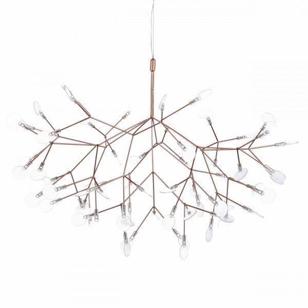 Подвесной светильник Heracleum диаметр 98Подвесные<br>Декоративный дизайнерский подвесной светильник Heracleum диаметр 98 вдохновлен растением борщевик (отВлат. HerГЎclГ©um). Его соцветия напоминают маленькие зонтики, расположившиеся на множестве отдельных веточек. «Лепестки» светильника не фиксированы, их положение можно менять, создавая новые и новые вариации. <br><br><br> Подвесной светильник Heracleum диаметр 98 станет отличным дополнением для гостиной или спальной комнаты в современном стиле хай-тек. Как и многие другие, это напр...<br><br>stock: 0<br>Высота: 150<br>Диаметр: 98<br>Материал абажура: Акрил<br>Материал арматуры: Металл<br>Мощность лампы: 13<br>Напряжение: 220<br>Тип лампы/цоколь: LED<br>Цвет абажура: Золото розовое