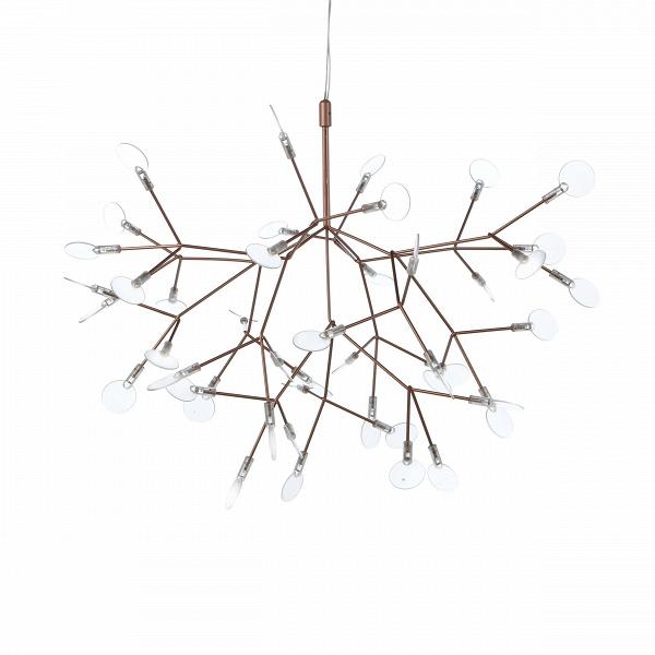 Подвесной светильник Heracleum диаметр 78Подвесные<br>Декоративный дизайнерский подвесной светильник Heracleum диаметр 78<br>вдохновлен растением борщевик (отВлат. HerГЎclГ©um). Его соцветия напоминают маленькие зонтики, расположившиеся на множестве отдельных веточек. «Лепестки» светильника не фиксированы, их положение можно менять, создавая новые и новые вариации. <br><br><br> Подвесной светильник Heracleum диаметр 78 станет отличным дополнением для гостиной или спальной комнаты в современном стиле хай-тек. Как и многие другие, эт...<br><br>stock: 0<br>Высота: 150<br>Диаметр: 78<br>Материал абажура: Акрил<br>Материал арматуры: Металл<br>Мощность лампы: 9<br>Напряжение: 220<br>Тип лампы/цоколь: LED<br>Цвет абажура: Золото розовое