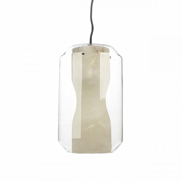 Подвесной светильник AquariumПодвесные<br>Стильное и модное освещение — это всегда 50 процентов успеха, оно задает тон всему интерьеру и насыщает теплой уютной атмосферой.В<br><br><br> Подвесной светильник Aquarium — это современная дизайнерская лампа. Она отлично подойдет в качестве освещения интерьеров в стиле хай-тек, техно, минимализм и лофт. Благодаря внутренней вставке абажура, изготовленной из дорогого каррарского мрамора, свет мягко рассеивается и приятен для восприятия. Светильник отлично подойдет для ванной или гостино...<br><br>stock: 0<br>Высота: 180<br>Диаметр: 20<br>Количество ламп: 1<br>Материал абажура: Стекло<br>Мощность лампы: 40<br>Ламп в комплекте: Нет<br>Напряжение: 220<br>Тип лампы/цоколь: E14<br>Цвет абажура: Прозрачный