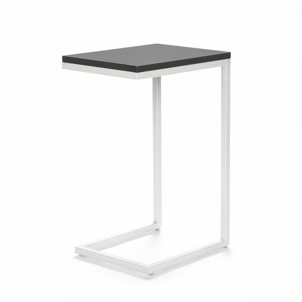 Кофейный стол OsakaКофейные столики<br>Дизайнерский придиванный небольшой кофейный стол Osaka (Осака) на белых ножках от Cosmo (Космо).<br><br><br> Кофейный стол Osaka — это уютный придиванный столик в современном стиле. Благодаря минималистичности дизайна, использовать его можно в различных по стилюВгостиных комнатах — в стиле лофт, хай-тек илиВтехно.В<br><br><br> Привычный облик кофейного стола навсегда изменился, дизайнеры заменили четыре ножки стола на одну сбалансированную конструкцию. Теперь благодаря этому оригинальны...<br><br>stock: 0<br>Высота: 60<br>Ширина: 30<br>Длина: 40<br>Цвет ножек: Белый<br>Цвет столешницы: Серый глянцевый<br>Тип материала столешницы: МДФ<br>Тип материала ножек: Сталь