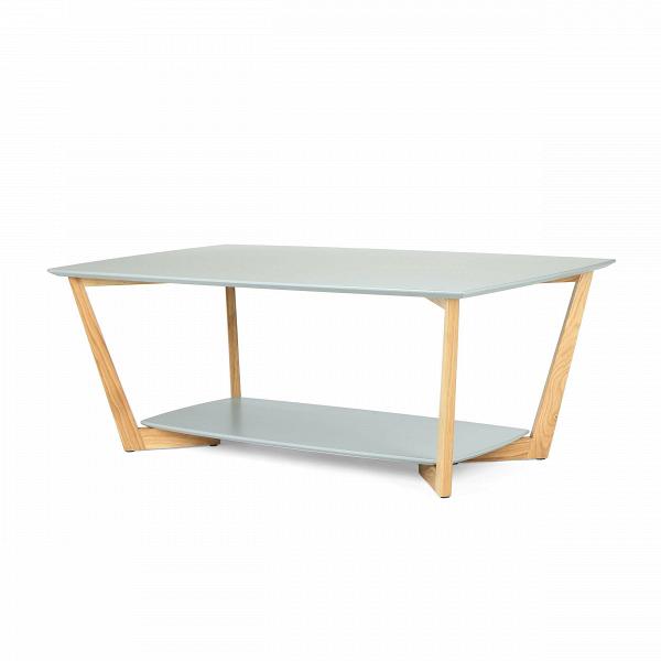 Кофейный стол BorderКофейные столики<br>Дизайнерский прямоугольный светлый кофейный столик Border (Бордер) на деревянных ножках от Cosmo (Космо).<br><br>Журнальный или кофейный стол — это постоянный атрибут любой современной гостиной. Это небольшой, но функциональный предмет мебели, который служит подставкой для светильника или пульта, а также столиком для сервировки небольшой трапезы.В<br> <br> Оригинальный кофейный стол Border подходит для использования в гостиных, оформленных в современном стиле.ВНижнюю полку столика можно и...<br><br>stock: 0<br>Высота: 45<br>Ширина: 70<br>Длина: 120<br>Цвет ножек: Светло-коричневый<br>Цвет столешницы: Серый<br>Материал ножек: Массив дуба<br>Тип материала столешницы: МДФ<br>Тип материала ножек: Дерево