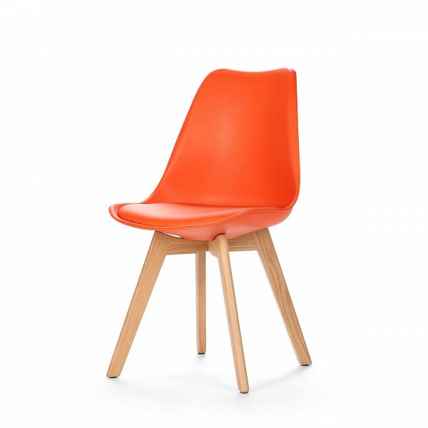 Стул SephiИнтерьерные<br>Дизайнерский креативный легкий однотонный стул Sephi (Сефи) из полиуретана на деревянных ножках от Cosmo (Космо).<br>Универсальный благодаря способности сочетаться с разными по стилю интерьерами, дизайн стула Sephi, возможно, как раз то, что вы искали. Даже если спустя время вы решили затеять ремонт, будьте уверены: и для него стул Sephi подойдет прекрасно! Экспериментируя с цветами стен, напольного покрытия или аксессуаров, создавая собственные дизайн-проекты, непременно включите в них и этот ...<br><br>stock: 0<br>Высота: 84<br>Ширина: 48.5<br>Глубина: 54.5<br>Цвет ножек: Белый дуб<br>Материал ножек: Массив дуба<br>Тип материала каркаса: Пластик<br>Материал сидения: Полиуретан<br>Цвет сидения: Оранжевый<br>Тип материала сидения: Кожа искусственная<br>Тип материала ножек: Дерево<br>Цвет каркаса: Оранжевый