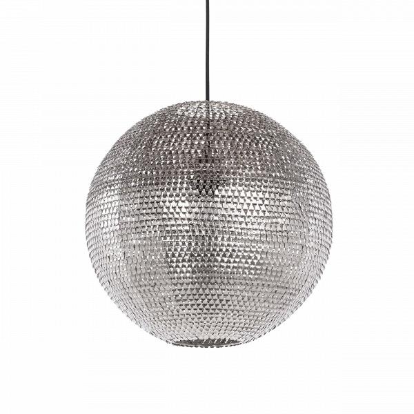 Подвесной светильник MeshПодвесные<br>Подвесной светильник Mesh — это уже не избитый диско-шар, завсегдатай любой вечеринки. Это приметный светильник, который способен освежить любой интерьер, не превратив его в безвкусицу.<br> <br> Шарообразный абажур изготовлен из до блеска отполированныхВметаллических деталей, которые отражают свет от лампы. Каким будет цвет — теплым или холодным, — это решать вам.В<br> <br> Дизайн светильника выполнен в техно-стиле. Об этом свидетельствуют цвет и материалы изделия. Несмотря на большое колич...<br><br>stock: 0<br>Высота: 150<br>Диаметр: 40<br>Количество ламп: 1<br>Материал абажура: Металл<br>Материал арматуры: Металл<br>Мощность лампы: 60<br>Ламп в комплекте: Нет<br>Напряжение: 220-240<br>Тип лампы/цоколь: E27<br>Цвет абажура: Никель<br>Цвет арматуры: Черный матовый<br>Цвет провода: Черный