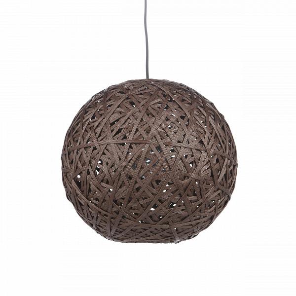 Подвесной светильник Nest BallПодвесные<br>Порой чтобы создать по-настоящему стильный интерьер, совершенно не обязательно прибегать к покупке дорогостоящего наполнения. Очень важно достигнуть баланса простоты и стиля мебели, света и декора.ВПодвесной светильник Nest Ball — это отличный инструмент, с которым можно создать сдержанный, но стильный дизайн помещения для жизни.В<br> <br> Благодаря шарообразной форме абажура, светильник создает необычный световой рисунок на стенах — один из последних трендов в мире дизайна интерьеров. ...<br><br>stock: 22<br>Высота: 150<br>Диаметр: 40<br>Количество ламп: 1<br>Материал абажура: Бумага<br>Материал арматуры: Металл<br>Мощность лампы: 40<br>Ламп в комплекте: Нет<br>Напряжение: 220-240<br>Тип лампы/цоколь: E27<br>Цвет абажура: Коричневый<br>Цвет арматуры: Черный матовый<br>Цвет провода: Черный