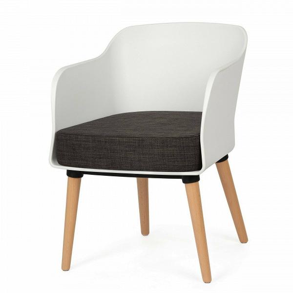 Кресло Montreal 1Интерьерные<br>Дизайнерское легкое кресло Montreal 1 (Монреаль 1) со спинкой из полипропилена на деревянных ножках от Cosmo (Космо).<br><br><br> Минимализм — это не столько стиль, сколько образ жизни. Создать дома спокойную атмосферу, в которую будет приятно окунуться после городского дня — настоящее искусство. К счастью, дизайнеры уже позаботились о нас. Представленное в горчичном и иссиня-черном цветах кресло Montreal 1<br>являет собой идеальный пример минимализма вВинтерьере. Основными цветами данного с...<br><br>stock: 10<br>Высота: 76<br>Ширина: 57<br>Глубина: 61<br>Цвет ножек: Светло-коричневый<br>Материал ножек: Массив бука<br>Тип материала каркаса: Полипропилен<br>Тип материала обивки: Ткань<br>Тип материала ножек: Дерево<br>Цвет обивки: Темно-серый<br>Цвет каркаса: Белый