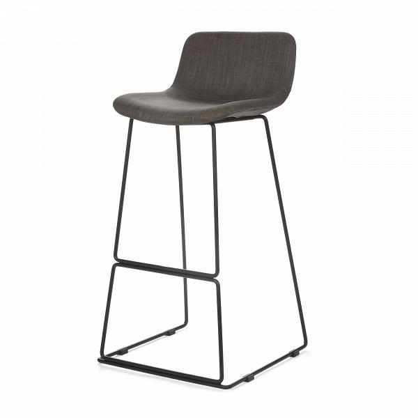 Барный стул Neo с мягкой обивкойБарные<br>Дизайнерский высокий барный стул Neo (Нео) с мягкой обивкой на стальных ножках от Cosmo (Космо). <br><br> Модель барного стула Neo с мягкой обивкой, основанная на оригинальных разработках шведского дизайнера Фредрика Маттсона, очаровывает с первого взгляда. Строение модели строго минималистичное. И в то же время универсальные цвета и геометрические формы со сглаженными углами замечательно впишутся в интерьерные композиции деревенского или конструктивного стиля, а также в некоторые интерпретации ...<br><br>stock: 21<br>Высота: 77<br>Высота спинки: 45<br>Ширина: 48,5<br>Глубина: 53,5<br>Цвет ножек: Черный<br>Цвет сидения: Серый<br>Тип материала сидения: Ткань<br>Тип материала ножек: Сталь<br>Дизайнер: Fredrik Mattson