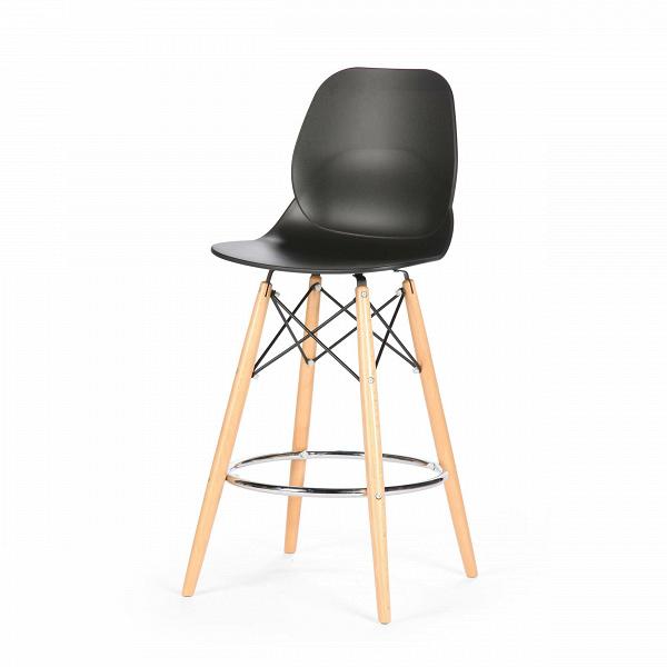 Барный стул EiffelБарные<br>Дизайнерский барный стул Eiffel (Айффэл) из полипропилена на светло-коричневых ножках от Cosmo (Космо). <br>Освежите дизайн своего домашнего или рабочего интерьера с помощью барного стула Eiffel от компании Cosmo. Уникальный и, главное, стильный дизайн стула Eiffel — залог безукоризненности вашего будущего интерьера. Все подобранные цвета, материалы и формы как нельзя лучше гармонируют друг с другом. Стул органично сочетается со столешницами как из натуральной светлойВдревесины, так и с ис...<br><br>stock: 11<br>Высота: 106,5<br>Высота спинки: 68<br>Ширина: 45,5<br>Глубина: 49<br>Цвет ножек: Светло-коричневый<br>Материал ножек: Массив бука<br>Тип материала каркаса: Сталь<br>Цвет сидения: Черный<br>Тип материала сидения: Полипропилен<br>Цвет каркаса дополнительный: Хром<br>Тип материала ножек: Дерево<br>Цвет каркаса: Черный