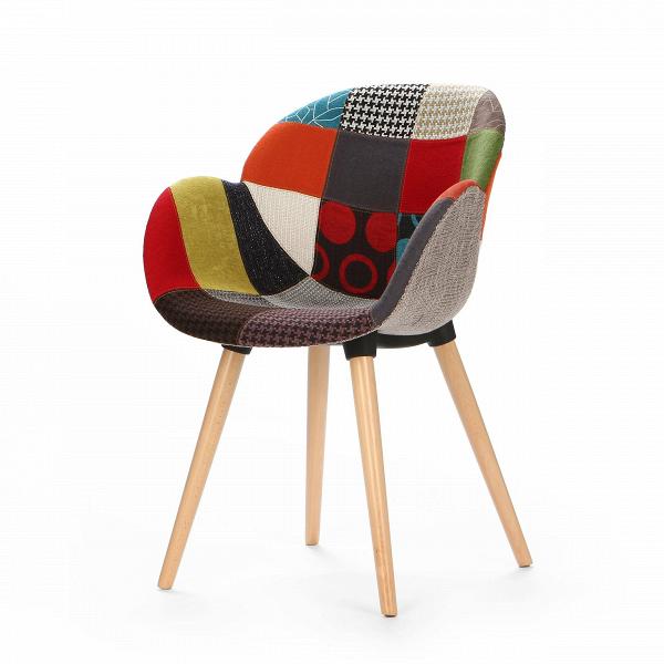 Стул PatchworkИнтерьерные<br>Дизайнерский интерьерный минималистичный стул Patchwork (Пэчворк) на длинных деревянных ножках от Cosmo (Космо).<br><br>Как же иначе можно было назвать данную модель стула? Patcwork — название, которое говорит само за себя. Совершенно прелестный стул Patchwork — отличное дополнение к любому современному интерьеру. Стул можно отнести к скандинавскому стилю, однако подбирать ему окружение нужно с умом. Соседство с ярким запоминающимся дизайном изделия — непростая задачка, но если грамотно подобра...<br><br>stock: 0<br>Высота: 84.5<br>Высота спинки: 45<br>Ширина: 59.5<br>Глубина: 59<br>Цвет ножек: Светло-коричневый<br>Материал ножек: Массив бука<br>Цвет сидения: Разноцветный<br>Тип материала сидения: Ткань<br>Тип материала ножек: Дерево