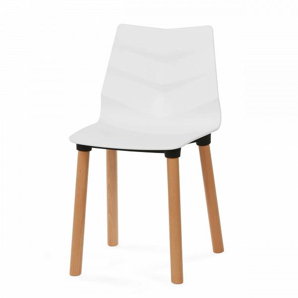 Стул LeafИнтерьерные<br>Дизайнерский легкий белый пластиковый интерьерный стул Leaf (Лиф) на деревянных ножках от Cosmo (Космо).<br>Стулья Leaf — коллекция ультрамодных современных стульев для дома и предприятий. Все они выполнены из одних материалов в одном цвете. В линейке имеются барные и обеденные стулья. Дизайн стула Leaf — это несколько современных стилей в одном. Автор дизайна постарался на славу, ему удалось органично соединить скандинавский минимализм и конструктивизм. При этом вычурно стул совершенно не выгл...<br><br>stock: 35<br>Высота: 83<br>Высота сиденья: 45<br>Ширина: 46<br>Глубина: 50<br>Цвет ножек: Светло-коричневый<br>Материал ножек: Массив бука<br>Цвет сидения: Белый<br>Тип материала сидения: Пластик<br>Цвет сидения дополнительный: Черный<br>Тип материала ножек: Дерево