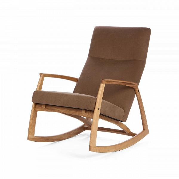 Кресло-качалка RamseyИнтерьерные<br>Дизайн красивого и совершенного кресла-качалки Ramsey имеет все шансы остаться в истории как объект неугасающего стиля. Кресло выполнено по дизайну Финна Юля, датского архитектора, дизайнера интерьеров иВпромышленного дизайнера, наибольшую известность которому принесли его конструкции мебели. Финн Юль был одной изВведущих фигур вВсоздании датского дизайна в 1940-х годах иВстал тем, кто познакомил Америку с датским модерном.<br><br><br> Все, что касается этого кресла, — цвет, фор...<br><br>stock: 0<br>Высота: 95<br>Высота сиденья: 46,5<br>Ширина: 69,5<br>Глубина: 95<br>Материал каркаса: Массив дуба<br>Материал обивки: Хлопок, Лен<br>Тип материала каркаса: Дерево<br>Коллекция ткани: Ray Fabric<br>Тип материала обивки: Ткань<br>Цвет обивки: Светло-коричневый<br>Цвет каркаса: Дуб<br>Дизайнер: Finn Juhl