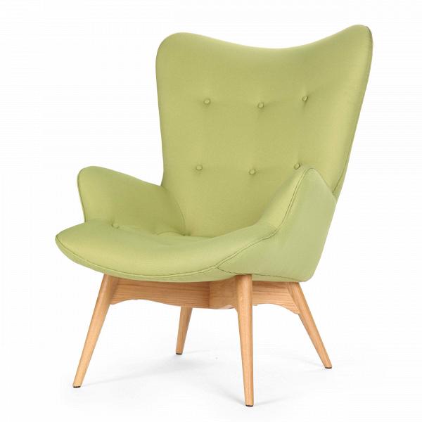 Кресло Contour 2Интерьерные<br>Дизайнерское глубокое кресло Contour 2 (Кантур 2) обивкой из ткани на деревянных ножках от Cosmo (Космо).<br><br><br> Австралийцы любят хороший дизайн воВвсем, отВоформления винных бочонков доВсерферных досок. Одним изВсамых ярких дизайнеров стал художник Грант Фезерстон, который начал заниматься дизайном в сороковых годах прошлого столетия иВсВтех пор стал иконой стиля воВвсем мире.<br><br><br> Идеальное как для прихожей, так иВдля гостиной, оригинальное кресл...<br><br>stock: 4<br>Высота: 91<br>Высота сиденья: 37<br>Ширина: 73,5<br>Глубина: 83<br>Цвет ножек: Дуб<br>Материал ножек: Массив дуба<br>Материал обивки: Полиэстер<br>Коллекция ткани: Gabriel Fabric<br>Тип материала обивки: Ткань<br>Тип материала ножек: Дерево<br>Цвет обивки: Зеленый<br>Дизайнер: Grant Featherston