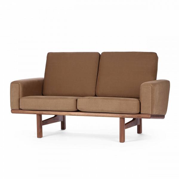 Диван Wegner 236 длина 149,5Двухместные<br>Дизайнерский cтильный диван Wegner (Вегнер) 236 длина 149,5 из ткани на деревянных ножках от Cosmo (Космо).<br><br>Диван Wegner 236 длина 149,5 является работой известнейшего датского дизайнера-проектировщика Ханса Вегнера. Проекты автора известны всему миру, многие из них используются в разного рода важных событиях, например, в серьезных телевизионных передачах. Диван Wegner носит яркий авторский почерк, отличается оригинальным, но простым дизайном.<br><br> Оригинальные проекты Ханса Вегнера созд...<br><br>stock: 0<br>Высота: 80<br>Высота сиденья: 40<br>Глубина: 86<br>Длина: 149,5<br>Материал каркаса: Массив ореха<br>Материал обивки: Хлопок, Лен<br>Тип материала каркаса: Дерево<br>Коллекция ткани: Ray Fabric<br>Тип материала обивки: Ткань<br>Цвет обивки: Светло-коричневый<br>Цвет каркаса: Орех<br>Дизайнер: Hans Wegner