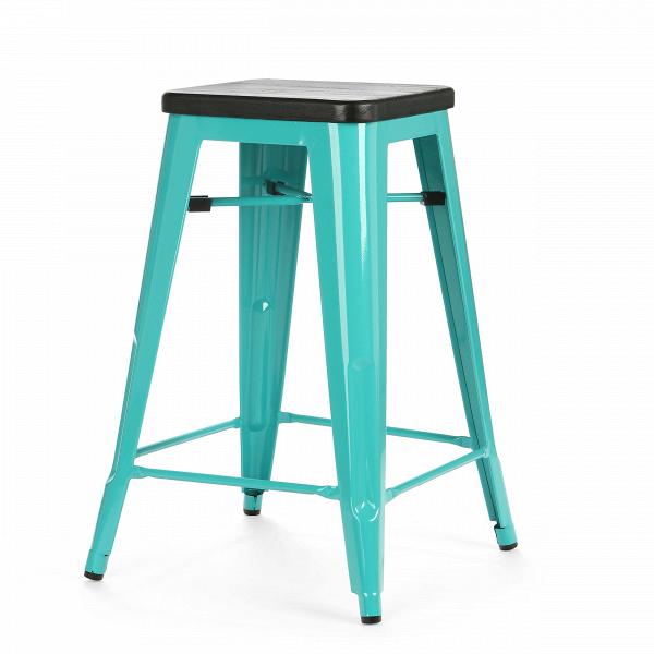 Барный стул Marais Color 1Полубарные<br>Хорошая мебель — это мебель стильная, удобная и надежная, простая в уходе. Так размышлял Ксавье Пошар, французский дизайнер ХХ века, и разработал целую серию предметов мебели, отвечающую этим запросам. Представляем вам барный стул Marais Color 1 с сиденьем из натурального дерева.<br><br><br> Тонкая гальванизированная сталь с порошковым напылением отлично воспринимает лакокрасочное покрытие, позволяя разнообразить палитру цветов, к тому же она очень долговечна. Продуманный дизайн предмета обесп...<br><br>stock: 6<br>Высота: 65<br>Ширина: 44<br>Ширина сиденья: 30<br>Глубина: 44<br>Глубина сиденья: 30<br>Тип материала каркаса: Сталь<br>Материал сидения: Массив дуба<br>Цвет сидения: Черный<br>Тип материала сидения: Дерево<br>Цвет каркаса: Бирюзовый<br>Дизайнер: Xavier Pauchard